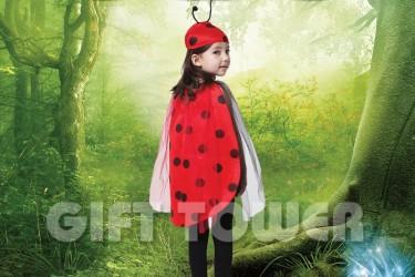 S-0015  Lovely Ladybug Suit