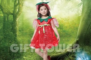 G-0064A  Lovely Woodland Fairy – Rosa