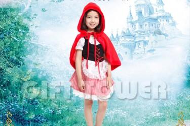 G-0180  Red Hood Girl