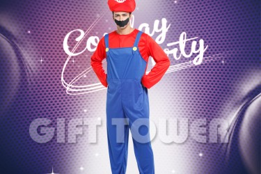 M-0077A  Red Plumber