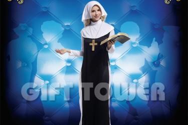 W-0004  Pretty Nun