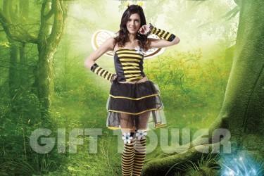 W-0050  Pretty Bee Dress