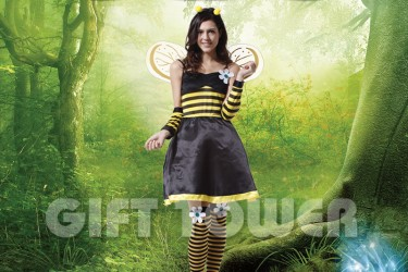 W-0057  Pretty Bee Dress