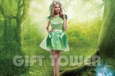 W-0061  Woodland Green Fairy