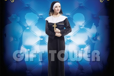W-0074  Pretty Nun