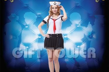 W-0086  Pretty Female Sailor