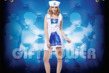 W-0112  Pretty Female Sailor