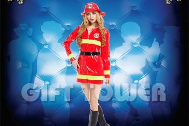 W-0180  Pretty Female – Firefighter