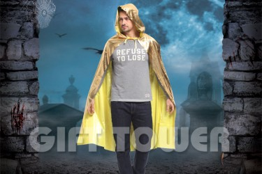 H-0074A     Dazzling Hooded Cape
