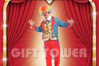 M-0075  Clown Tuxedo
