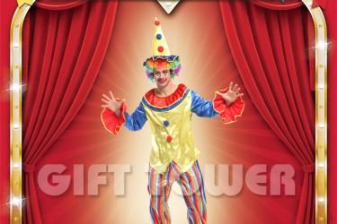 M-0106  Clown Suit