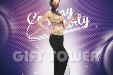 W-0207  Belly Dancer