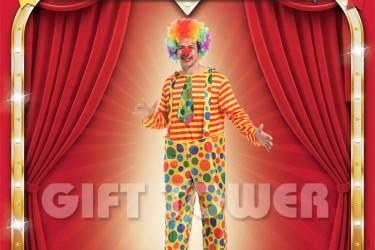 M-0105  Polka Dot Clown