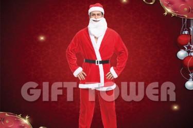 X-0007  Santa Claus Suit