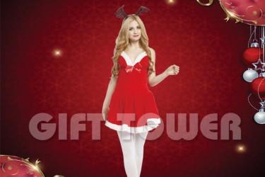 X-0013  Ms. Deer Santa