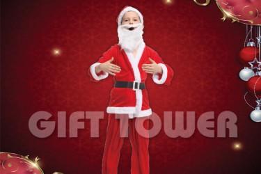 X-0016  Santa Claus Suit
