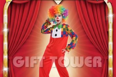 B-0152  Clown Boy