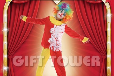 B-0168  Scary Clown