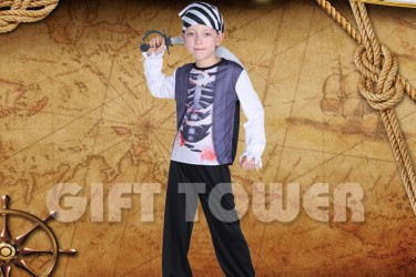 B-0173     Skeleton Pirate Boy