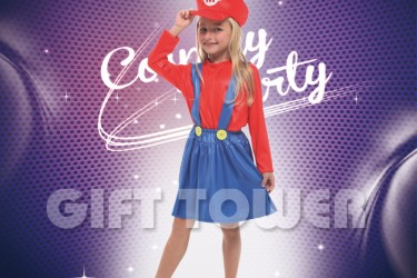 G-0258A     Plumber Girl-Red
