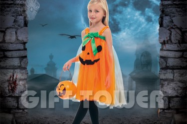 G-0259     Cute Pumpkin Girl