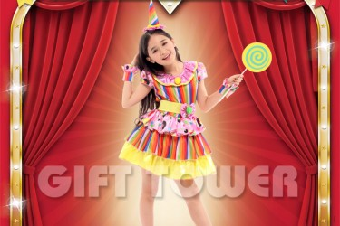 G-0261     Clown Girl