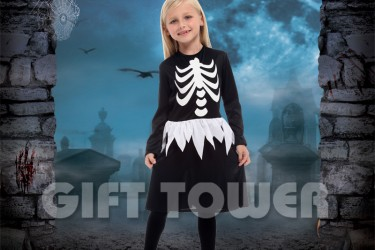 G-0275A     Skeleton Dress