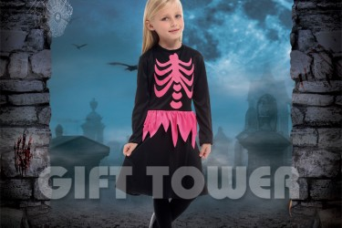 G-0275B     Skeleton Dress