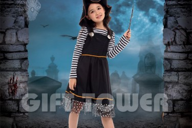 G-0276     Black Witch Girl