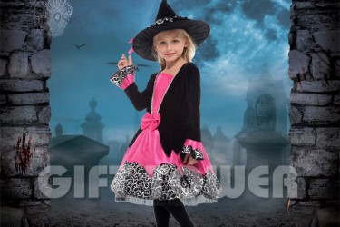 G-0277     Black Witch Girl