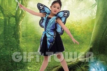 G-0281     Butterfly Fairy-Blue
