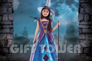G-0291  Deluxe Witch Girl