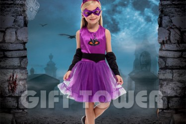 G-0292     Purple Cat Girl