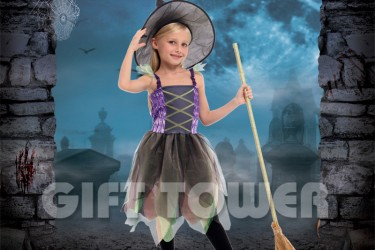 G-0295     Cute Rainbow Witch