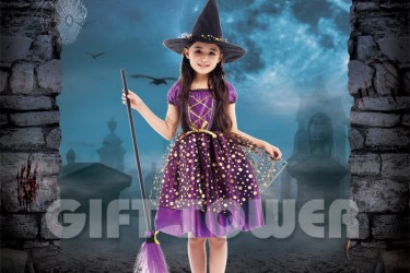 G-0296  Elegant Witch Girl