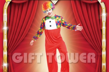 M-0121     Red Clown