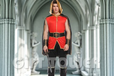 M-0126  Hooded Cape Warrior