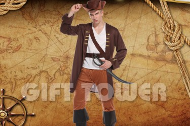 M-0128     Brown Pirate