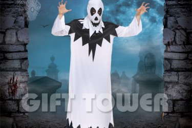 M-0129  Hooded Robe Ghost