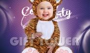 T-0009  Little Tiger Costume