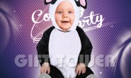 T-0012  Cute Panda Costume