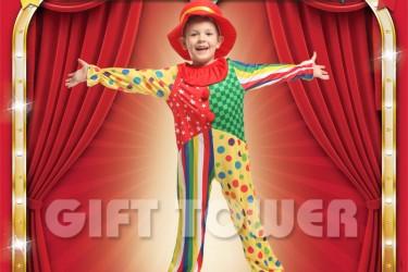 B-0222  Clown Boy