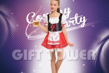 G-0353  Beer Girl